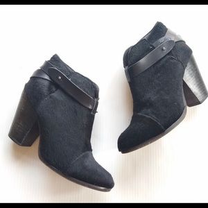 Rag & Bone pony hair harrow boots